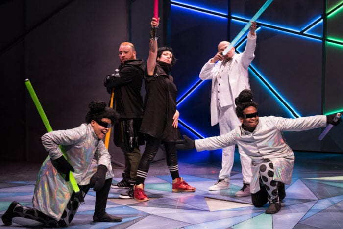 Hip hop takes a fairy tale for a sci-fi spin in The Freshest Snow Whyte at Imagination Stage (review)