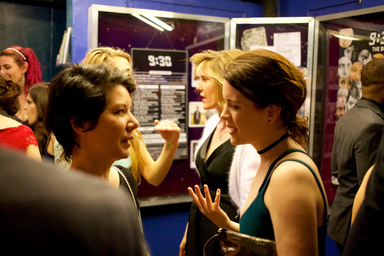 (l-r) Jennifer Knight and Sara Tisdale