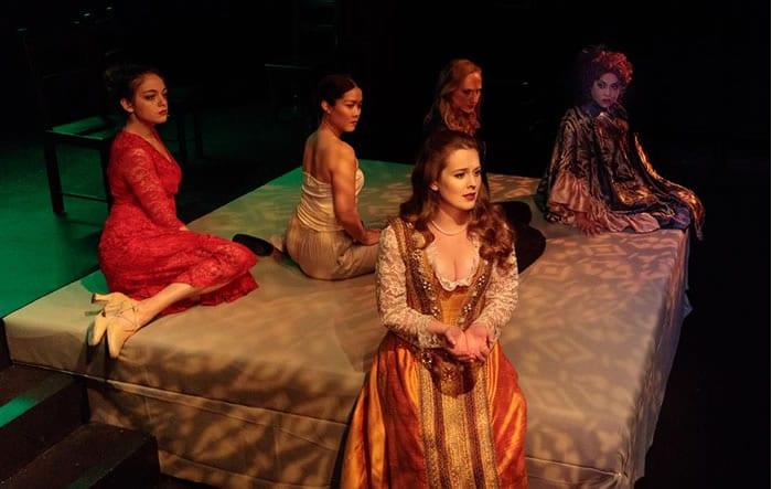 Musical The Mistress Cycle debuts at Creative Cauldron (review)