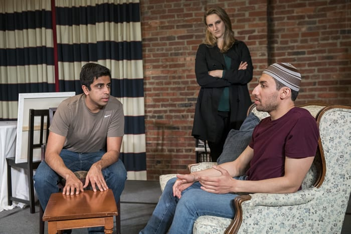 Disgraced from Compass Rose Theater (review)