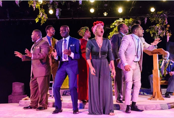 The Gospel at Colonus gets a glorious revival from Avant Bard (review)