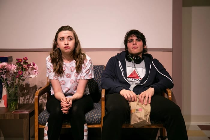 Review: Burst, new play from Parlor Room Theater