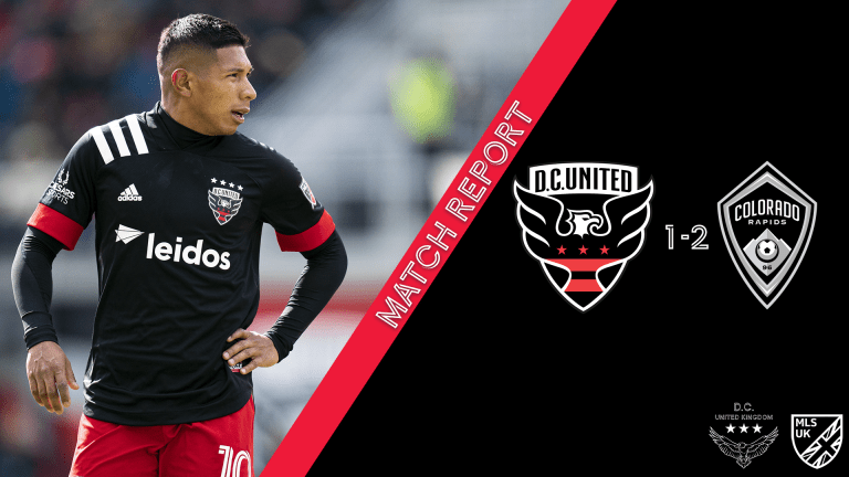 Read more about the article Match Report: DCU 1-2 Colorado Rapids