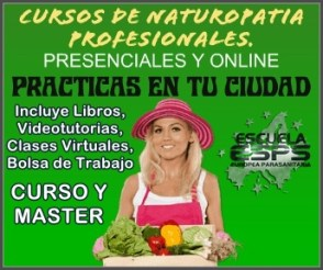 cursos de naturopatia profesionales