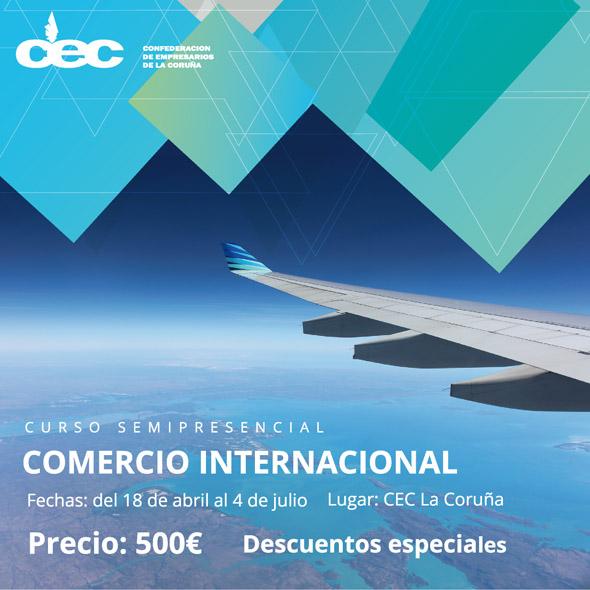 Curso de Comercio Internacional en Coruña