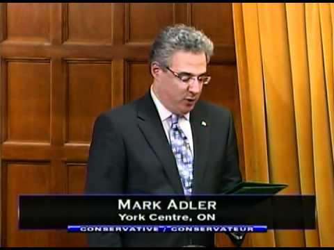 Dân biểu Mark Adler. Nguôn: TheStar.com