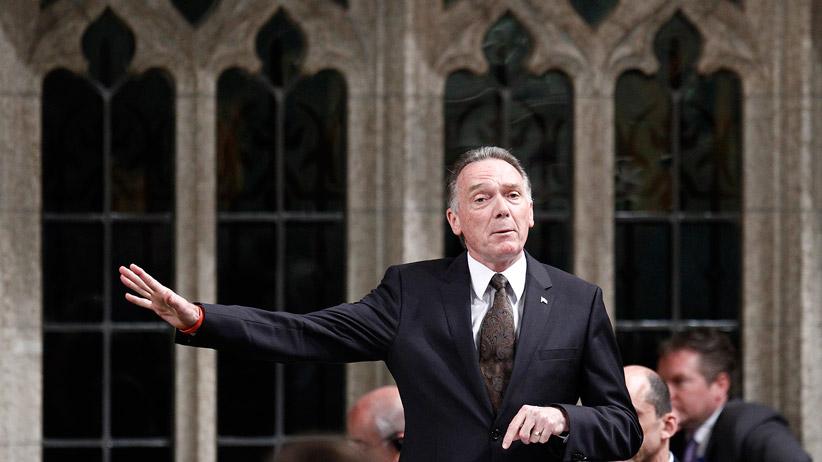 Cựu Bộ trưởng Môi trường, dân biểu CPC Peter Kent . Nguồn