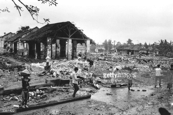 Huế, 1 tháng 2, 1968. Nguồn:  Getty Images/Terry Fincher