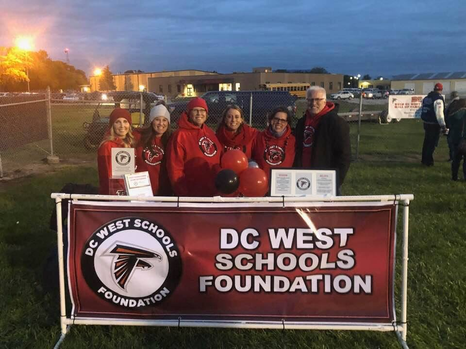 The DC West Schools Foundation will have a booth set up at many DCWest sporting events. Stop by and get to know our Board of Directors!