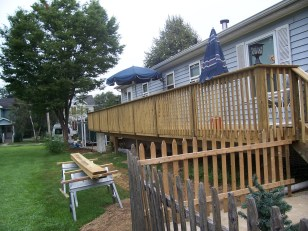 home improvement pole deck