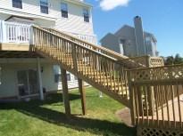 home improvement pole stairway