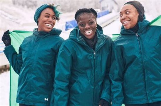 the amazing Nigerian women's bobsled team