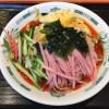 黒酢しょうゆ冷し麺+酸辣湯仕様【日高屋】