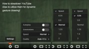 How to change playback speed on YouTube!