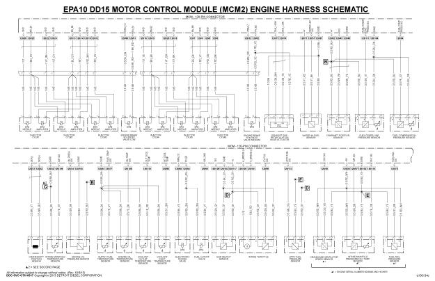 Schematic Wiring Diagram : Epa dd mcm wiring diagram troubleshooting