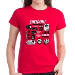 Sheldon Quotes T-Shirt The Big Bang Theory Apparel and Product Gifts