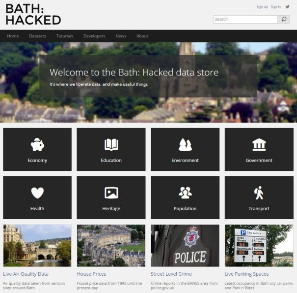 Bath: Hacked data store