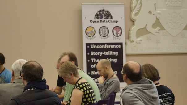 "Open Data Camp, 21 - 22 Feb 2015 Winchester: Unconference. Image by <a href=""https://www.flickr.com/photos/sashataylor/with/15987877744/"">Sasha Taylor</a> via Flickr."