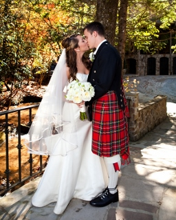 Scottish Wedding With Kilts