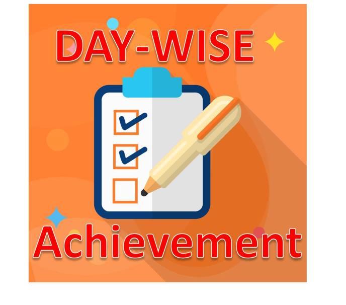 daily achievement