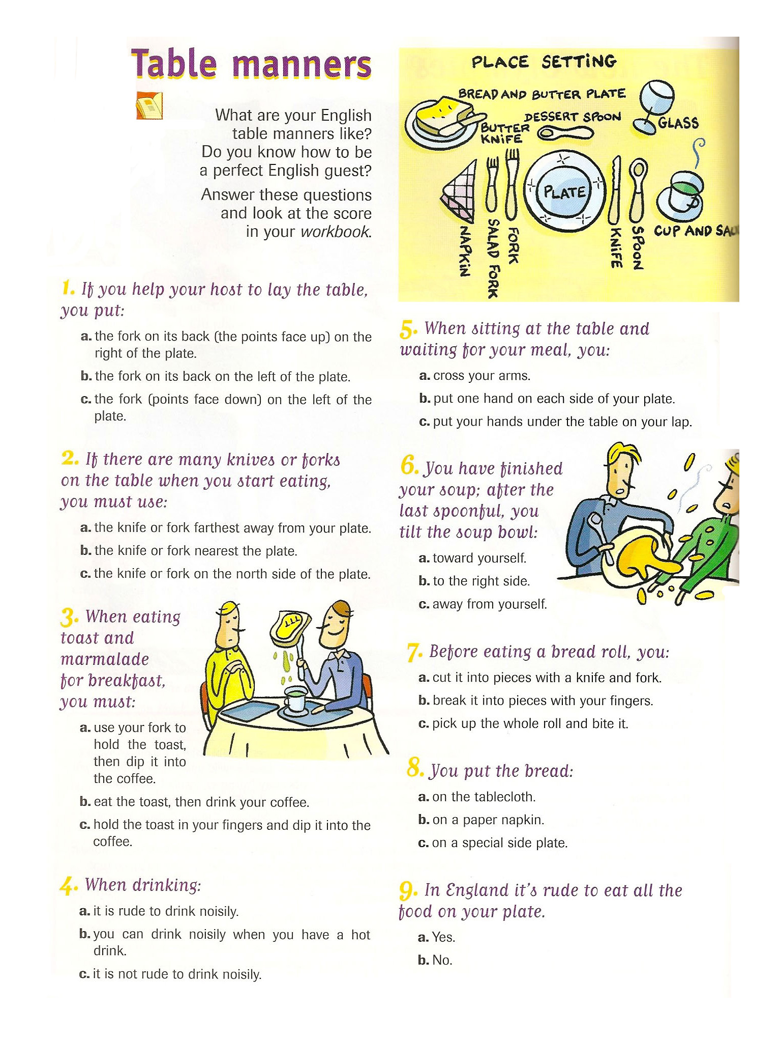 Quotes About Etiquette Table Quotesgram