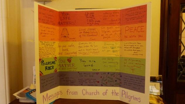 Üzenetek a gyülekezet tagjaitól az LMBT embereknek