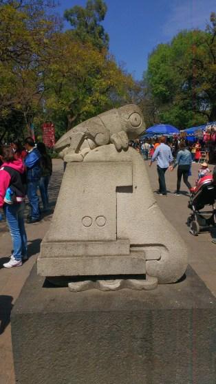a Chapultepec aztékul Szöcskehegyet jelent
