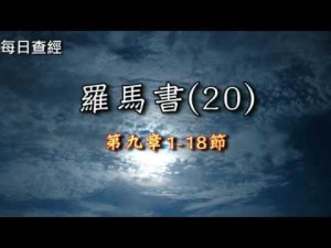 Read more about the article 羅馬書(20)9:1-18