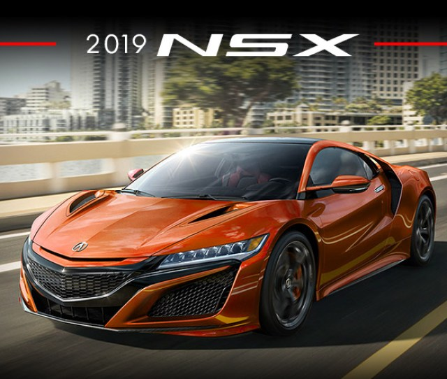 New 2019 Acura Nsx For Sale Near Los Angeles Ca