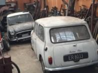 Mini Cooper 1275 S Barn Finds To Be Restored by DD Classics.