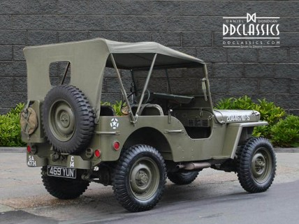 Ford Military Jeep 1945 2