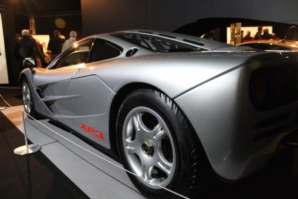 McLaren Exhibit at LCCS
