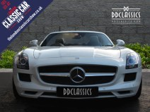 White Mercedes Bemz AMG SLS For Sale 4