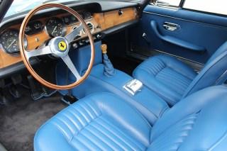 ferrari 330 GT interior