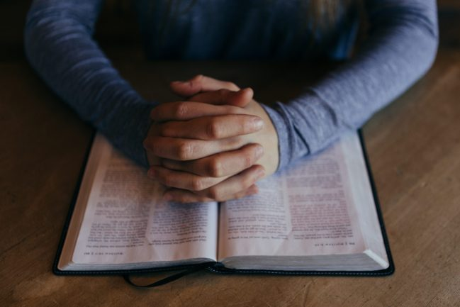 praying through scripture