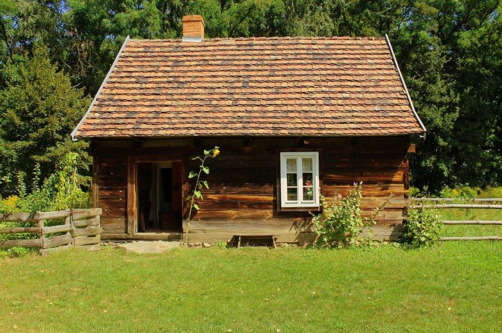 house, cottage, old cottage