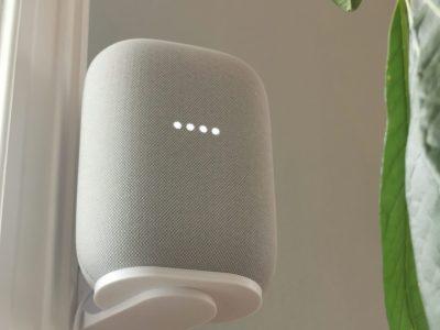 Veggfeste til Google Nest Audio