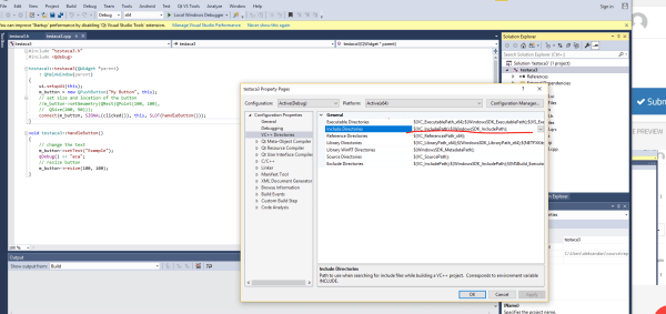 Visual Studio C++ basic project cannot open source file ...