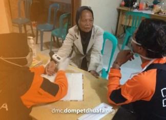 默拉皮火山噴發警報響應DMC Dompet Dhuafa (DD),截至週二(17/11/2020),DD為難民提供了各種日常需求。