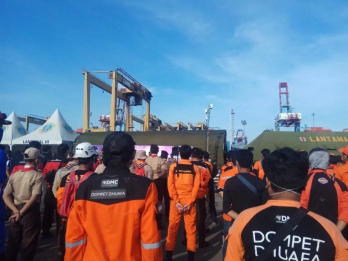 Pusat Manajemen Bencana DD Terjunkan 5 Tim ke Lokasi Kecelakaan Sriwijaya Air