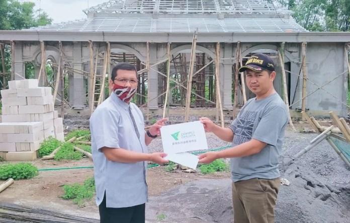 Lewat Majelis Mitra Dakwah, DDHK Berikan Bantuan ke Masjid di Blitar dan Magetan