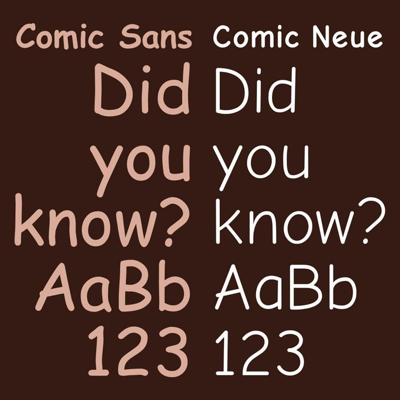 Comic Sans ¿Por que tanto odio?