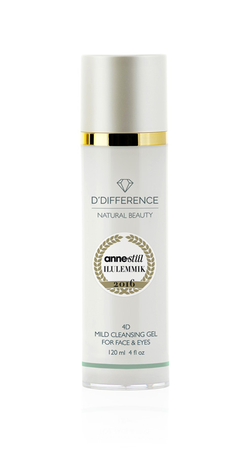 cleansing gel, face care, näohooldus, moisture, for sensitive skin, face and eyes, puhastusgeel, auhinnatud, awarded product