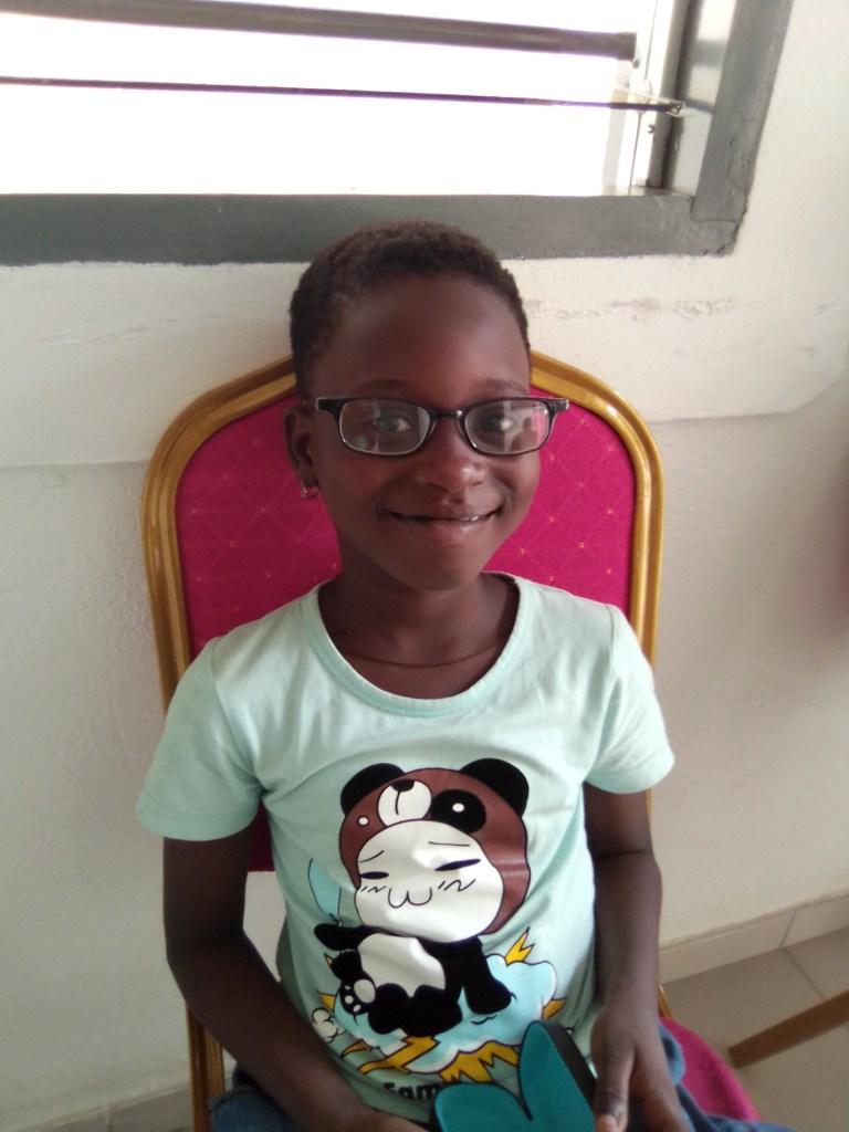 Des enfants défavorisés de Cotonou et alentours voient mieux