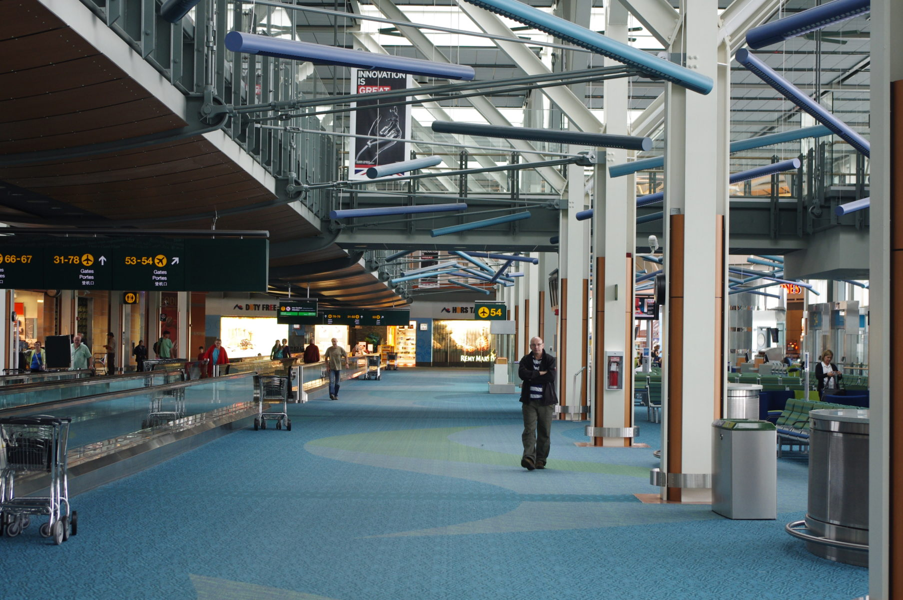 Vancouver International Airport, travel to Canada from India Dhanu Dhaliwal Law Group