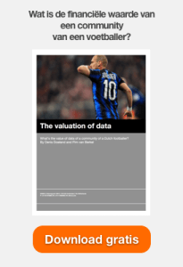 Wat is de financiele waarde van een community van een voetballer?