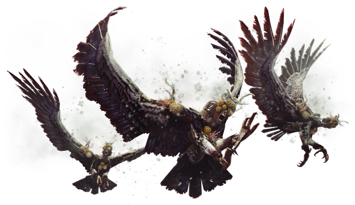 Infected Snow Harpy The White Dragon Temple