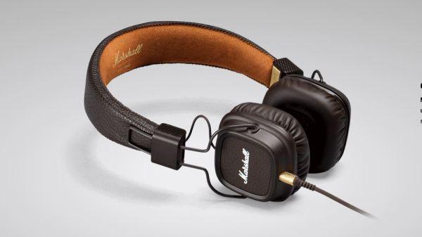 Brown Marshall Headphones: Major II