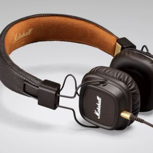 Brown Marshall Headphones: Major II
