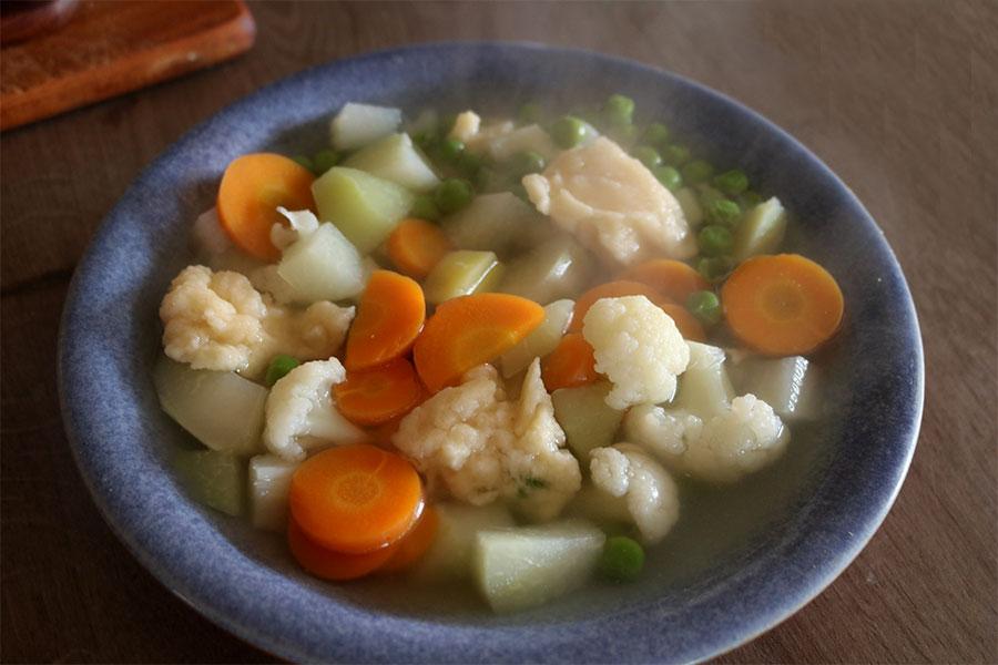 Gemüsesuppe von Oma DDR Rezept